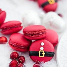 Macaron Kalėdoms