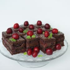 Proginiai pyragėliai (šokoladinis)
