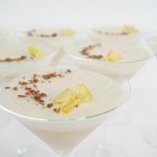 Martinio taurėje desertas