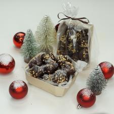 Kalėdiniai desertai su šokoladu