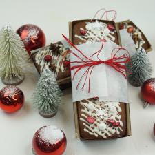 Kalėdinis pyragas su uogomis/ Dž. vaisiais ir riešutais