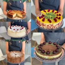 Firminiai pjaustyti tortai Seduja
