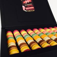 Macarons dovanų dėžė (90 vnt.)