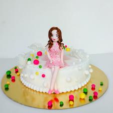 """Vaikiškas tortas """"Mergaitė"""""""